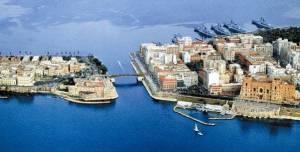 Una veduta di Taranto