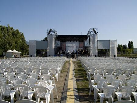 Palco Centrale Pomigliano Jazz (ph Pasquale Ottaiano)