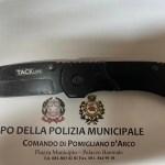 Pomigliano, Pugno duro contro babygang: fermato 17enne in possesso di un coltello