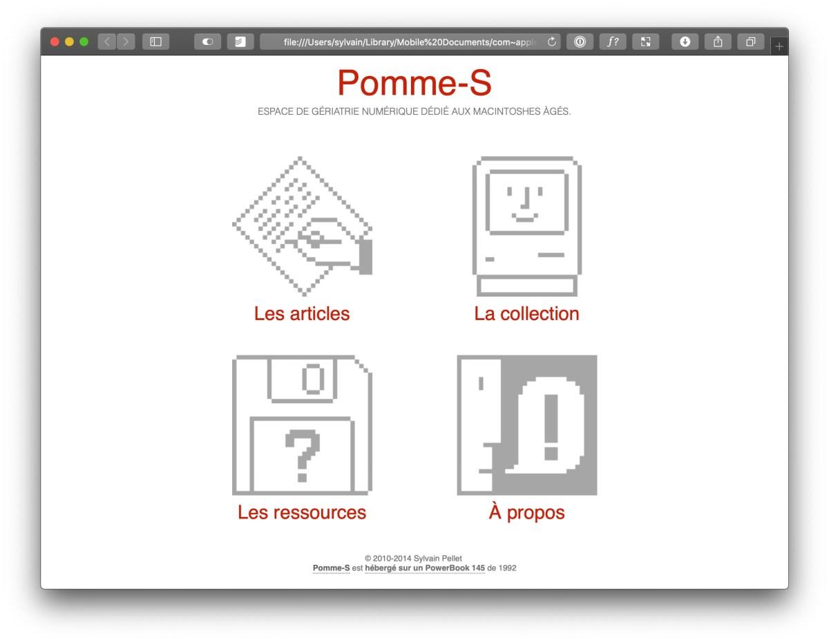 Pomme-S v3.0 (2014)