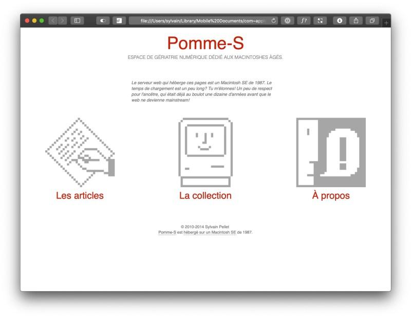 Pomme-S v4.0 (2014)