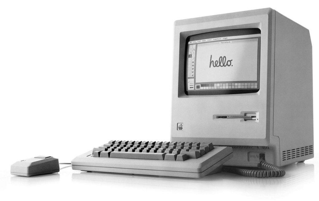 Macintosh Hello