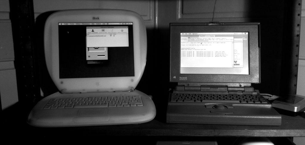 Le serveur web qui hébergeait Pomme-S.ch en 2011.