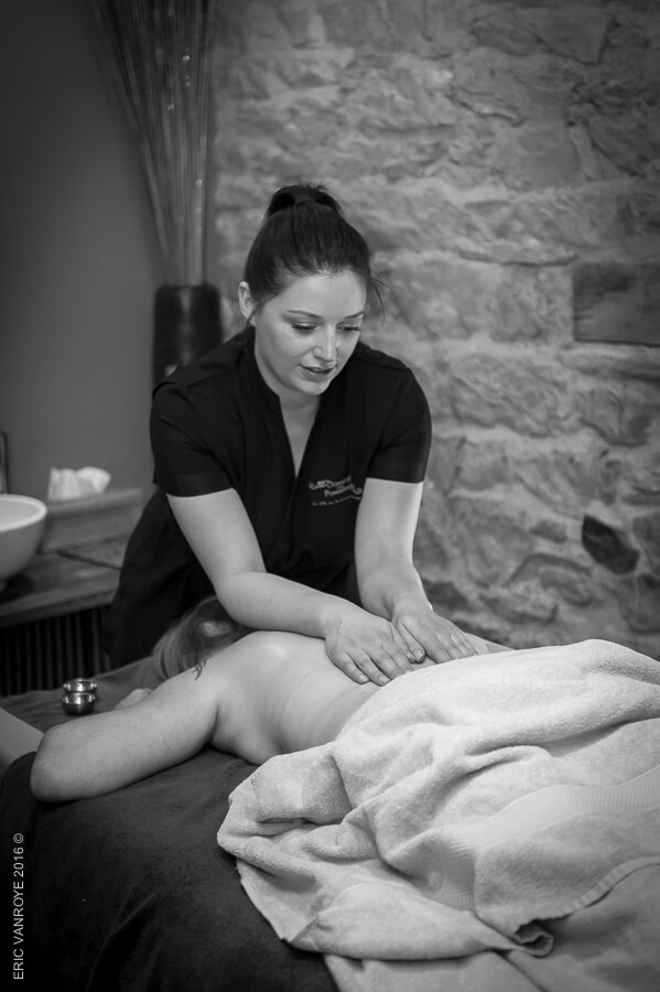 Rituel de massage en Normandie