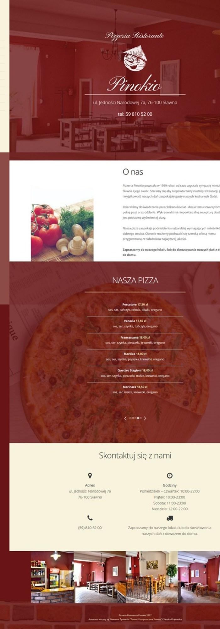 Pizzeria Ristorante Pinokio