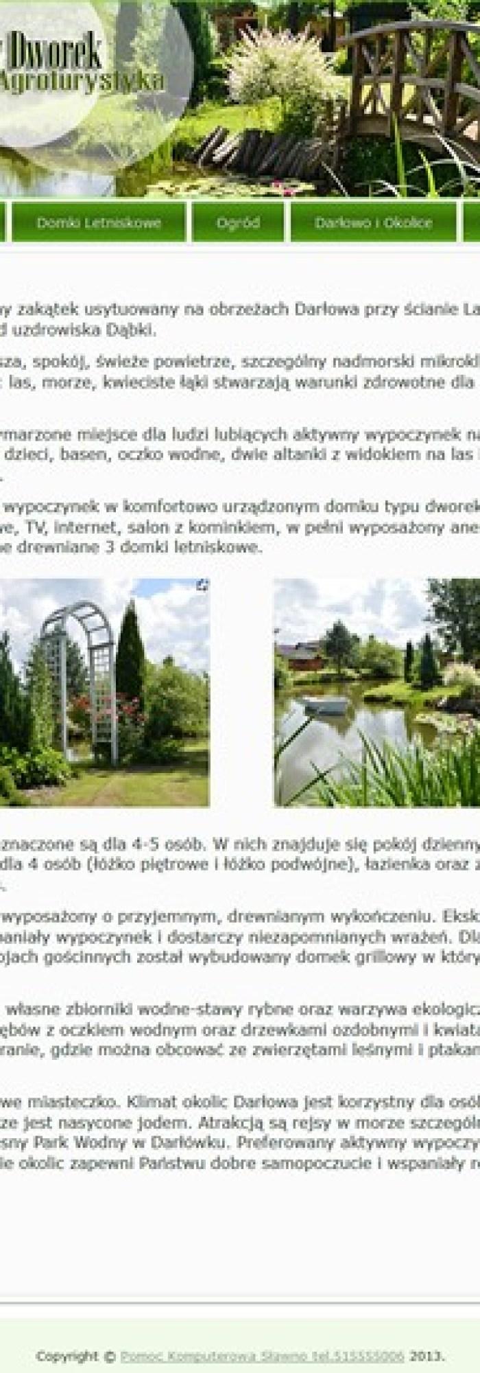Leśny Dworek Agroturystyka