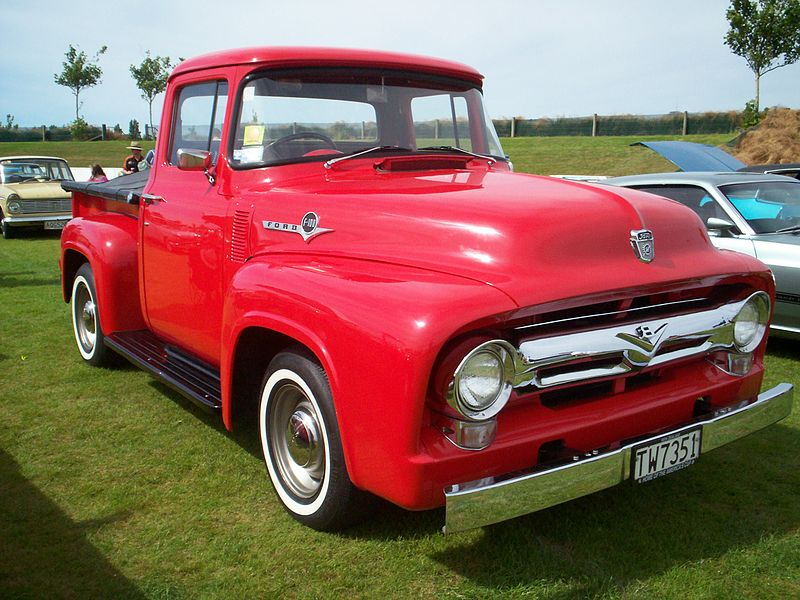 1956 Ford F-100 (photo courtesy of Riley)