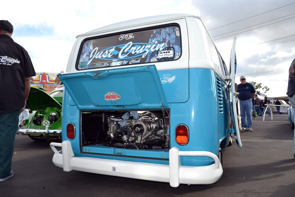 VW Bus Engine Compartment