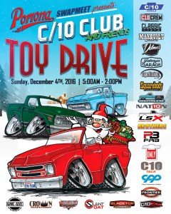 The C10 Club's Annual Toy Drive at the Pomona Swap Meet