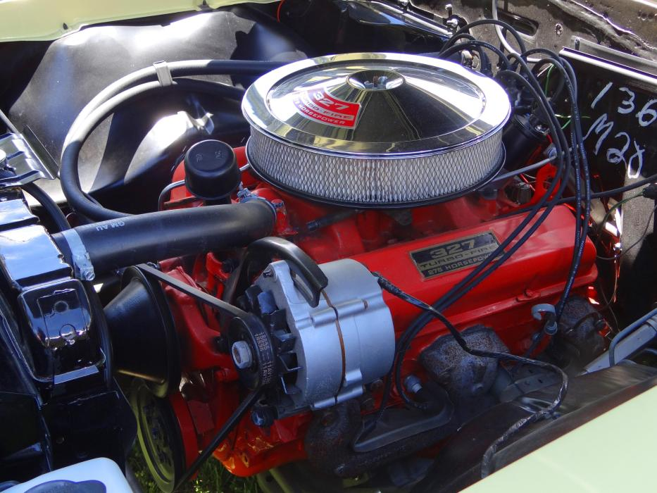 327 Turbo Engine