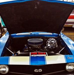 1969 Camaro SS Engine