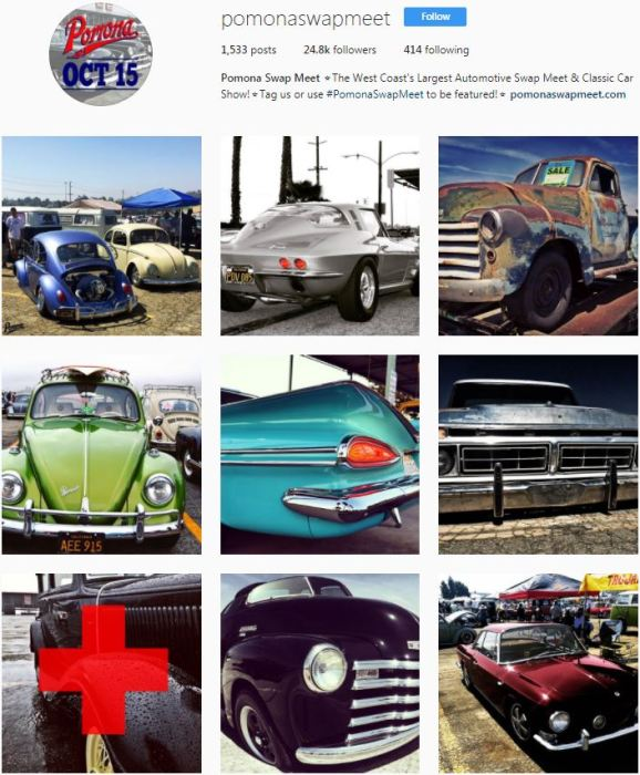 Pomona Swap Meet Instagram