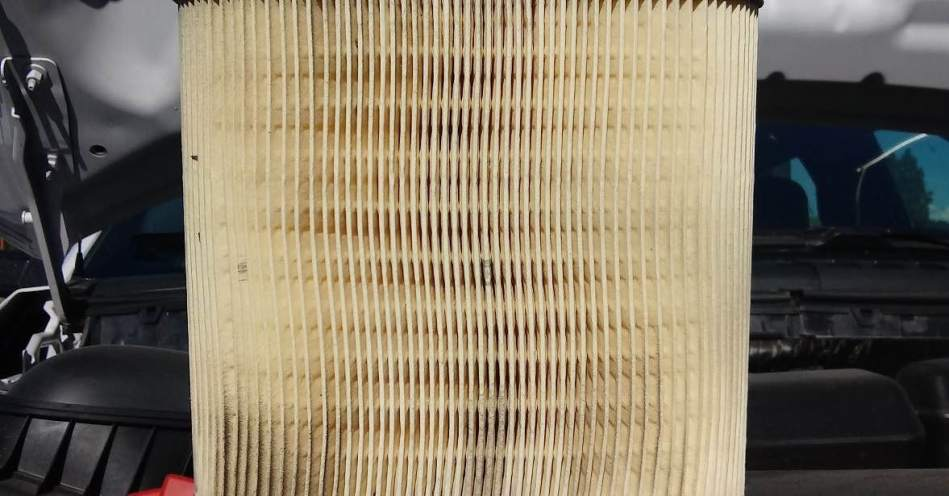 Air Filter Close Up