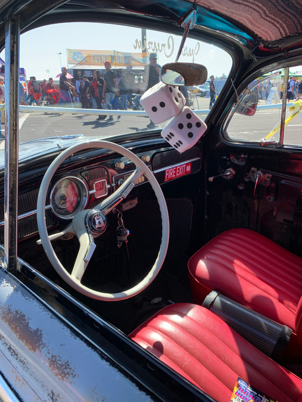 1964 VW Beetle Interior
