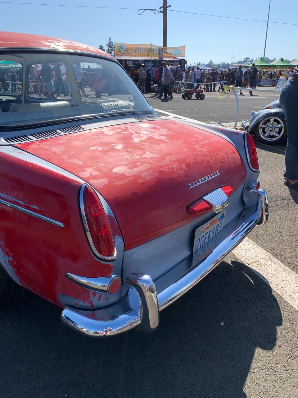 1964 VW Notchback - Rear