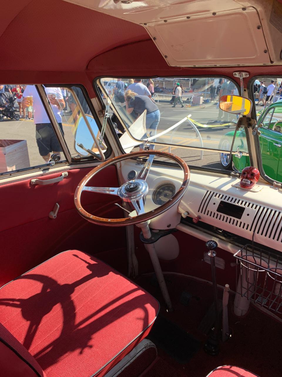 1966 VW Bus Interior