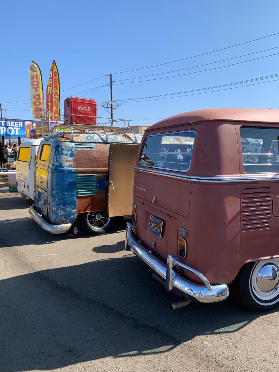 VW Bus Line Up - Rear