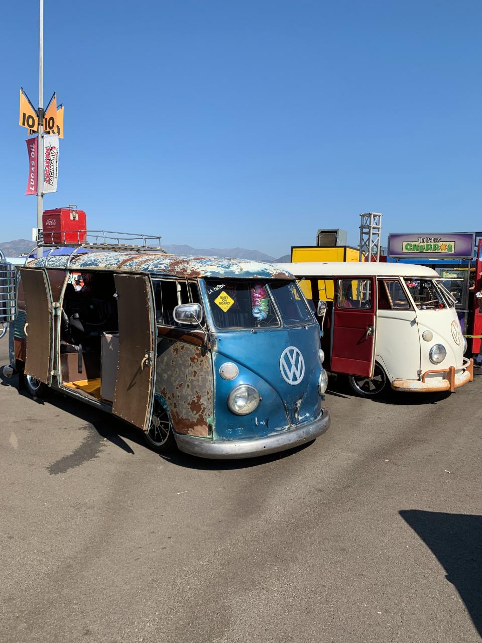 Vintage VW Barndoor Buses