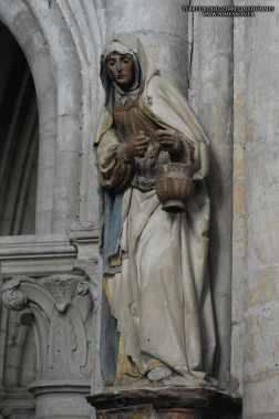 Sainte Marthe de église sainte madeleine Troyes