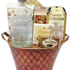Oh My Moonshine Whiskey Gift Basket