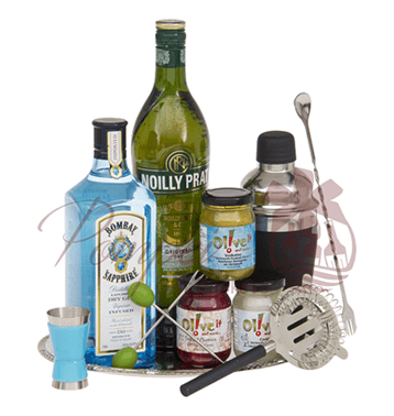 4th Of July Liquor Gift Basket