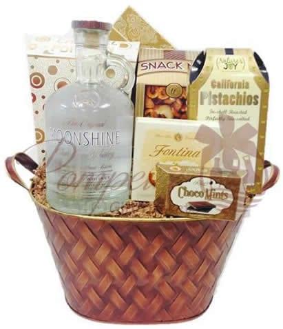 Whiskey Gift Basket NYC