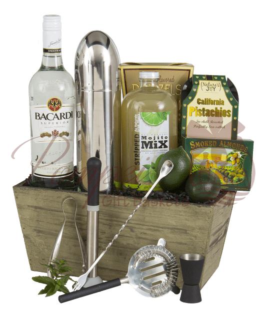 Cocktail Basket