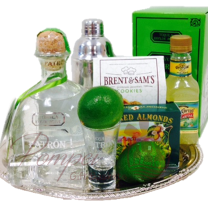 ShaShaShake it Up Margarita Gift Basket, Patron Gift Set, Patron Gift Basket, Margarita Gift Basket