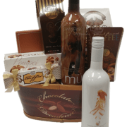Chocolate Decadence Wine Gift Basket