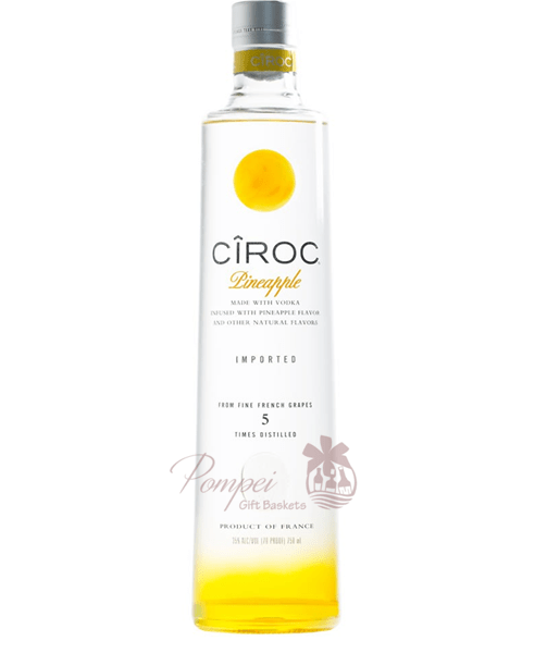 Ciroc Pineapple Vodka from Pompei Baskets