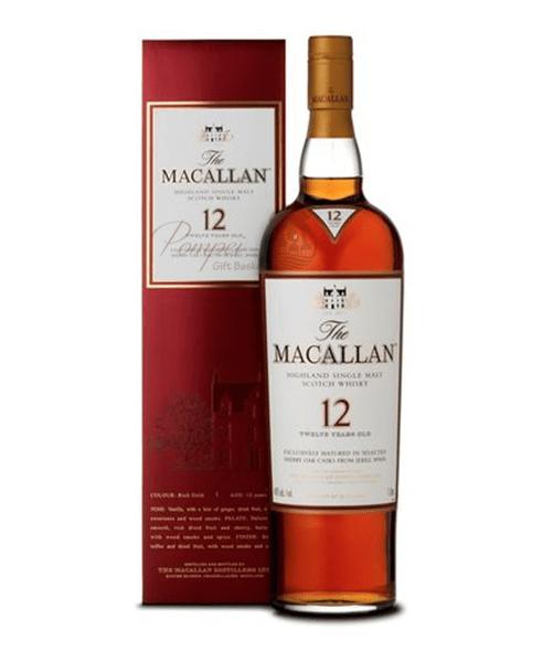 Macallan 12 Year Single Malt Scotch Gifts
