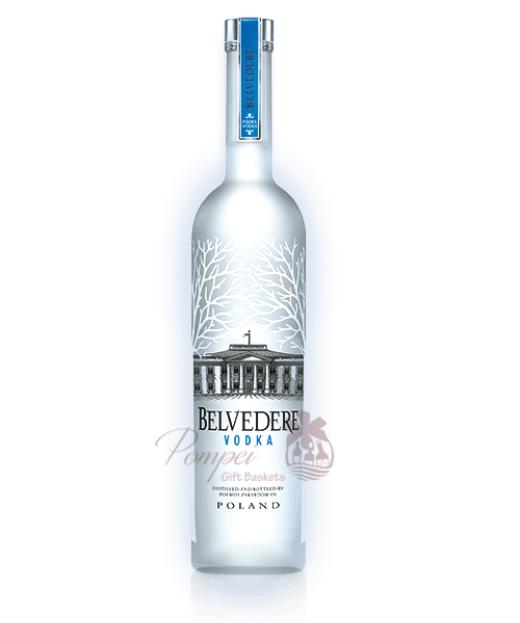 Belvedere Silver Saber Luminous Bottle