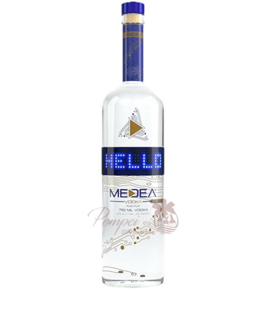 Happy Birthday Vodka Bottle
