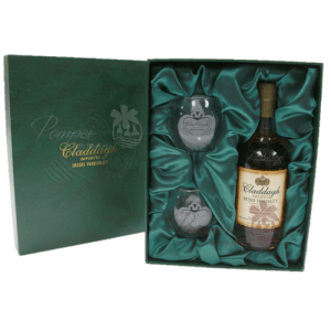 Claddagh Irish Whiskey Gift Set, Claddagh Whiskey with glasses, Imported Irish Whiskey, Claddagh Irish Whiskey NJ, Claddagh Irish Whiskey NY, Claddagh Irish Whiskey shipped, Claddagh Irish Whiskey delivered, Claddagh Whiskey, St Patricks Day Gifts, St Pattys Day Gifts, Irish Whiskey Gifts, real irish whiskey,