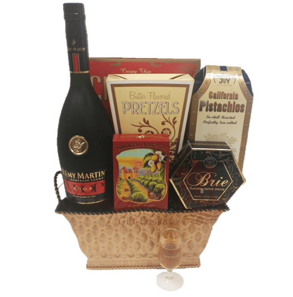 Very superior cognac gift basket by pompei baskets very superior cognac gift basket remy gift basket remy gift basket delivered free negle Choice Image