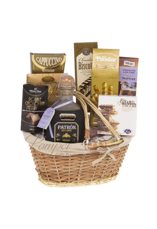 With Love Tequila Gift Basket by Pompei Baskets
