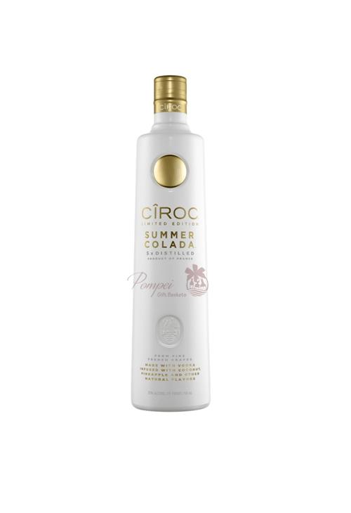 Ciroc Summer Colada Vodka From Pompei Baskets