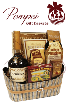 Cognac Gift Baskets for Delivery