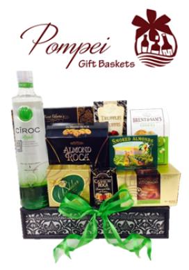 Ciroc Gift Baskets WA, Gift Baskets Washington, Ciroc Gifts WA, Engraved Ciroc WA, Liquor Gift Baskets Washington, Vodka Gift Baskets WA