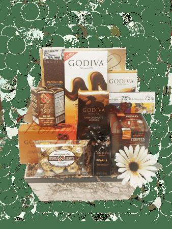 Choco Lover's Chocolate Gift Basket, Chocolate Gift Baskets, Gourmet Gift Basket, Chocolate Gift Basket NJ, Chocolate Gift Basket NY, Chocolate Gift Basket CT