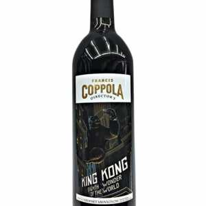 King Kong Cabernet Sauvignon, Francis Ford Coppola Director's King Kong Cabernet Sauvignon, King Kong Wine, Coppola King Kong Cabernet, King Kong Cab Sauv, Francis Coppola King Kong Wine, Engraved Movie Wine, Movie Wine, francis coppola king kong wine review