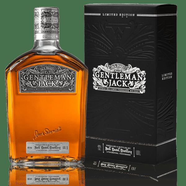 Gentleman Jack Collectors Bottle, Gentleman Jack 2018 bottle, Collector Bottle Jack Daniels, Jack Daniels Gift Set, Engraved Gentleman Jack, 1L Gentleman Jack Collector Bottle, Jack Daniels Limited Edition 1L Gentleman Jack