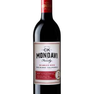 CK Mondavi Scarlet Five, CK Mondavi Scarlet Five Gift Basket, Robert Mondavi Wine, Engraved CK Mondavi Scarlet Five, Engrave CK Mondavi Scarlet Five, CK Mondavi Scarlet Five Wine Gift Basket