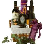 Afternoon Delight Wine Gift Basket
