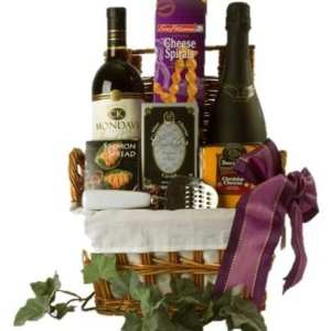 Afternoon Delight Wine Gift Basket, Sparkling Wine Gift Basket, Wine and Champagne Gift Basket, Wine and Prosecco Gift Basket, Free delivery wine gift basket, NJ wine gift basket
