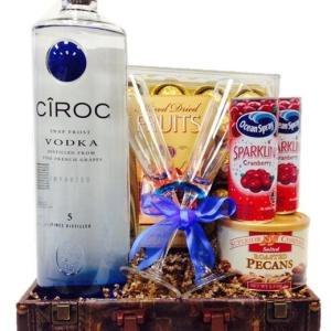 Big Daddy Ciroc Vodka Gift Basket, ciroc gift basket, engraved ciroc, custom ciroc gifts, personalized ciroc gifts, Ciroc Gift Basket LA, Ciroc Gift Basket NJ, Ciroc Gift Basket NY
