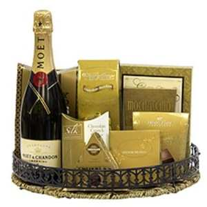 Moet Celebration Champagne Gift Basket, Moet Gifts NJ, Moet Gifts NY, Engraved Moet, Custom Moet Gift Basket, Personalized Moet Chandon Champagne Gift, Christmas Gift Basket