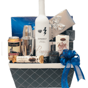 Something Blue Mezcal Gift Basket, mezcal Gifts, Engraved Mezcal Gifts, GEM&BOLT Gifts NJ, Artisanal Mezcal, Artist Liquor, Female Liquor Brand