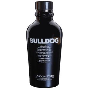 Bulldog Gin, engraved bulldog gin, engraved gin, The Underbite Gin Gift Basket, bulldog gin gifts, gifts for dog lovers, gin gift basket, bulldog gift basket,