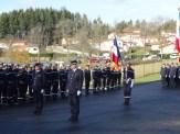 Prise de commandement du Lieutenant Hubert Moulin